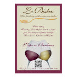 Poster Template Fine Dining French