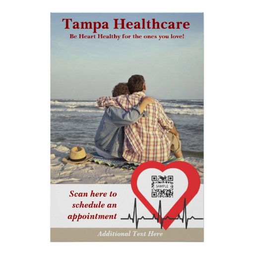 Poster Template Heart Health