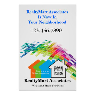 Poster Template House Realtors