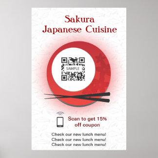 Poster Template Japanese Restaurant