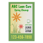 Poster Template Lawn Care