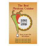 Poster Template Mexican Restaurant