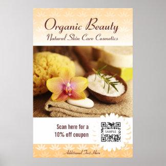 Poster Template Organic Beauty