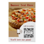 Poster Template Pizza