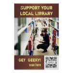Poster Template Support Your Local Library