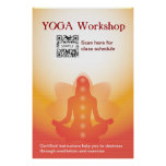 Poster Template Yoga
