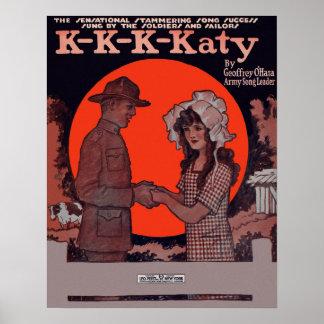 Poster temprano de la cubierta de la partitura 190