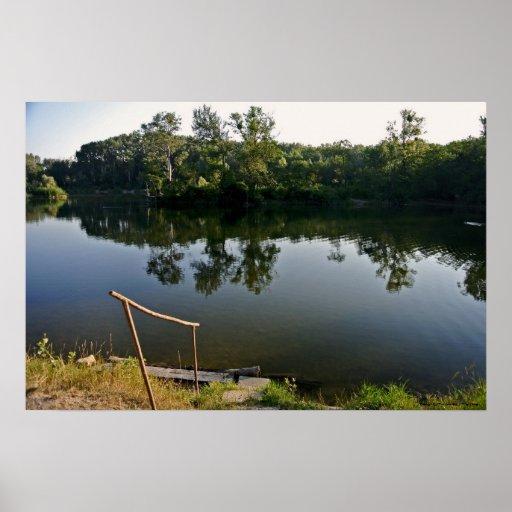 "Poster ""The Lake """