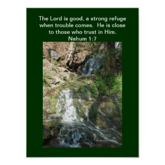 Poster -  The Lord is good