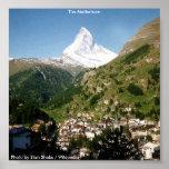 Poster / The Matterhorn / 1996
