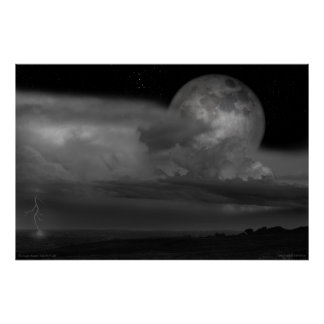 """Poster: """"The Super Moon"""" - March 19, 2011"""