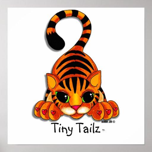 Poster - Tiggy the Tiger