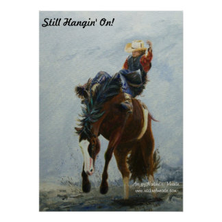 ¡Poster, tipo del Bronc, aún Hangin encendido!