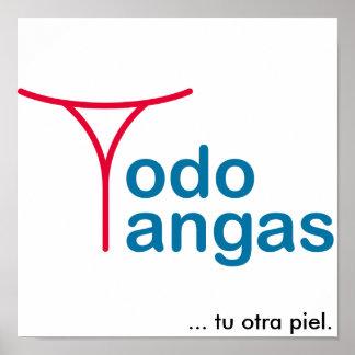 Poster Todo Tangas