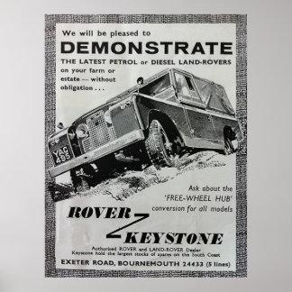 Poster trapezoidal de la demostración