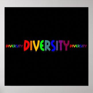 Poster triple de la diversidad