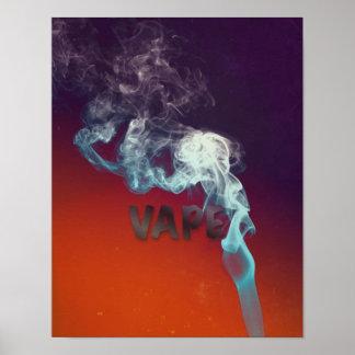 Poster Trippy del premio del Grunge de la nube de