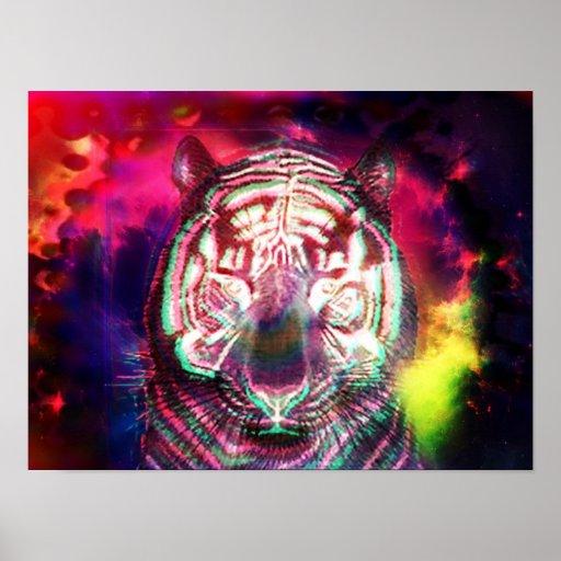 poster tRIPPY del tigre