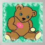 Poster triste del oso