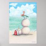Poster tropical por diseño del idyl-wyld, dedos de