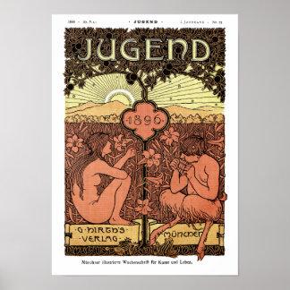 Poster: Tubos de la cacerola - Jugend revista mayo