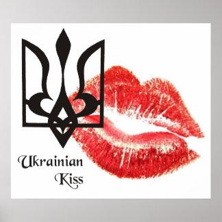 Poster ucraniano del ~ del beso