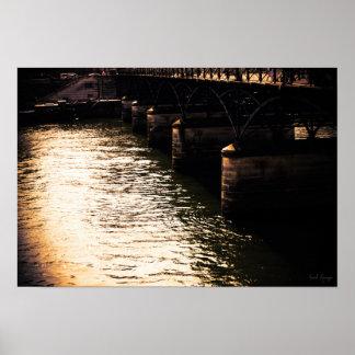Poster Under the bridges of Paris