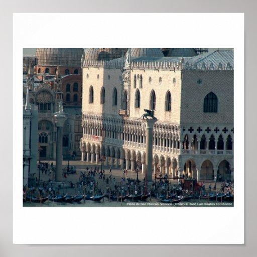 Póster Venecia San Marcos Posters