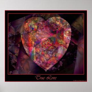 Poster verdadero del amor