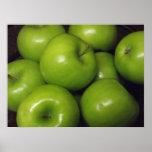 Poster verde de Apple