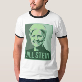 Poster verde de la propaganda de Jill Stein - - Playera