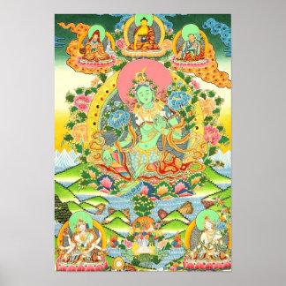 Poster verde de Tara