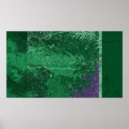 Poster verde tóxico de Avatar