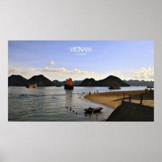 Poster - VIETNAM, bahía larga de la ha