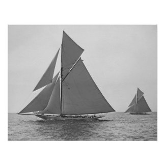 Poster vigilante 1893 del velero