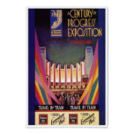 Poster - Vintage 1933 Chicago Worlds Fair
