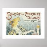 Poster Vintage Advertisements Chocolat Print