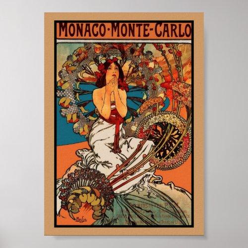 Alphonse Mucha Monaco Monte Carlo