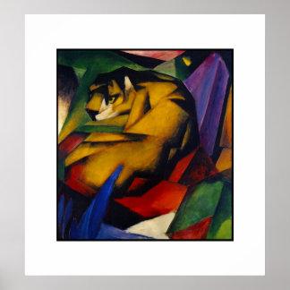 Poster Vintage Art The Tiger Poster