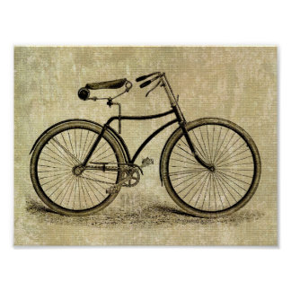 Poster:  Vintage bicycle Poster