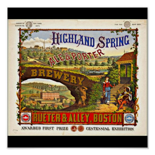 Poster-Vintage Boston Artwork-31 Poster