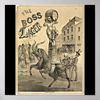 Poster-Vintage Boston Artwork-39 Poster