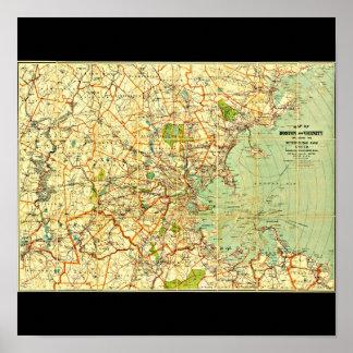 Poster-Vintage Boston Maps-12