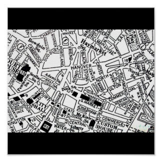 Poster-Vintage Boston Maps-15