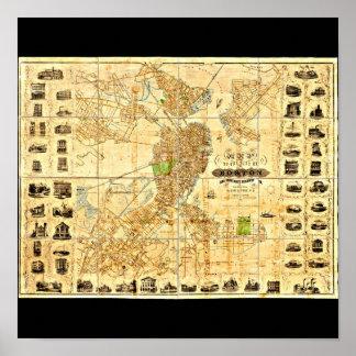 Poster-Vintage Boston Maps-20