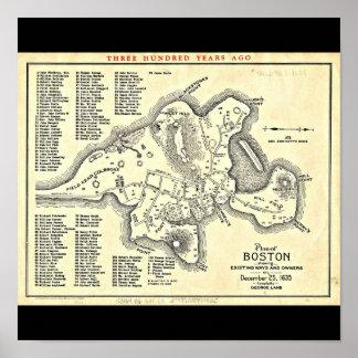 Poster-Vintage Boston Maps-23