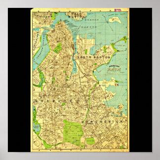 Poster-Vintage Boston Maps-6