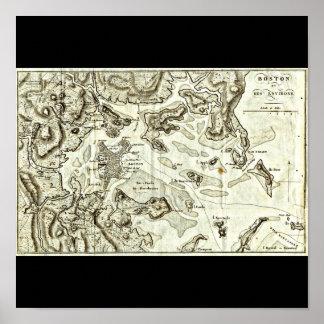 Poster-Vintage Boston Maps-8
