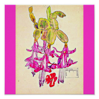 Poster-Vintage-Charles Rennie Mackintosh 12 Póster