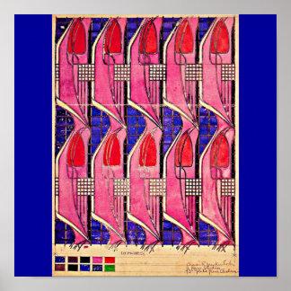 Poster-Vintage-Charles Rennie Mackintosh 14